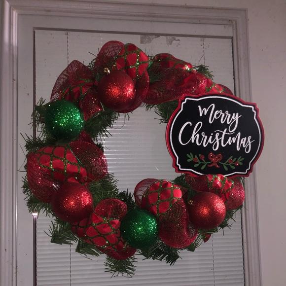 Other - 🎄🎄Handmade Christmas Wreath🎄🎄